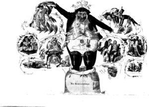 16.Rothschild jako międzynarodowy finansista, Frankfurt 1845 rok.