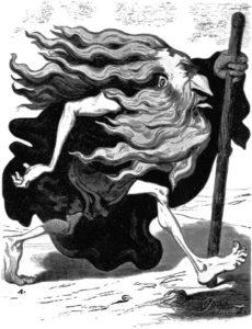 18.Żyd wieczny tułacz, 1852 rok.