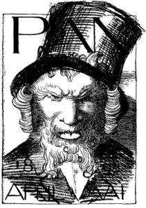 25.Parodia Otto Juliusa Bierbauma, 1895 rok.