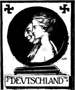 28.Antysemicki plakat wyborczy do Reichstagu,1920 rok.