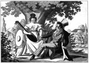 4.Szmul wyznaje Rebece swoją miłość. Norymberga 1825 rok.
