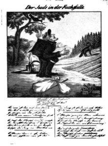 5.Żyd w pułapce na lisa (brak daty i miejsca wydania).