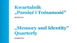 Pamięć i tożsamość - okładka